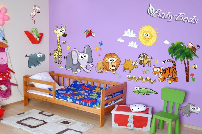 Samolepky na zeď dětské motivy