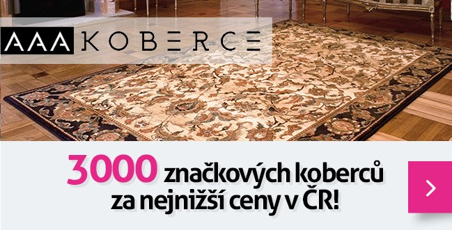 Největší prodejce kusových koberců v ČR!