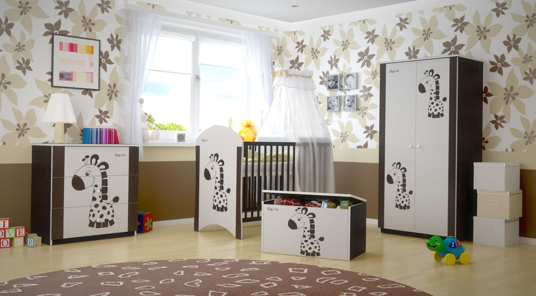 Dětský pokoj HNĚDÁ ŽIRAFA