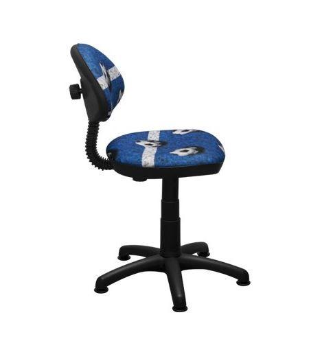 Dětská otočná židle TYP 1 - FOTBAL modrá