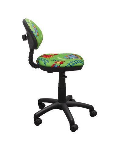 Dětská otočná židle TYP 1 - VLÁČEK zelená