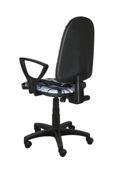 Dětská otočná židle TYP 4 - GRAFFITI ČB