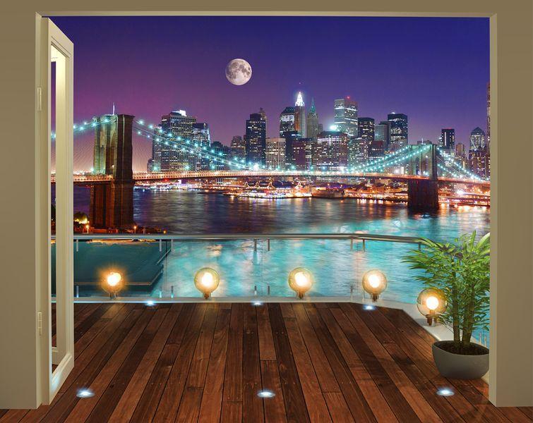 Modern 3d tapeta brooklynsk most e shop - Poster grandi da parete ...