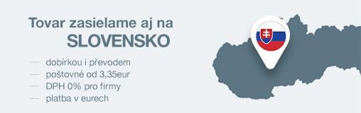 Zásilky zasíláme i na Slovensko!