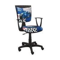 Dětská otočná židle SIMON - FORMULE modrá