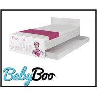 Dětská postel MAX Disney - MINNIE PARIS 180x90 cm - bez bariérek