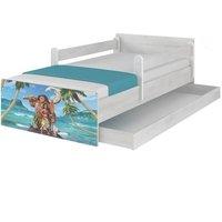 Dětská postel MAX Disney - MOANA 180x90 cm - BEZ ŠUPLÍKU