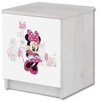 Dětský noční stolek Disney - MYŠKA MINNIE PARIS