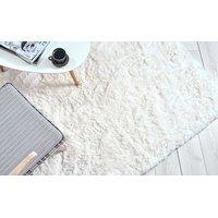 Dětský plyšový koberec MAX BÍLÝ-ECRU