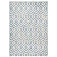 Kusový koberec Capri Duo - modrý