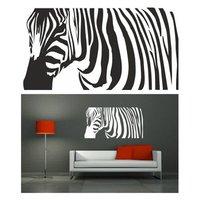 Samolepky na zeď SAFARI color - vzor 4