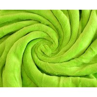 Oboustranná deka Coral - světle zelená