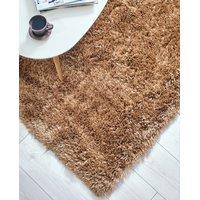 Kusový koberec Shaggy MAX mussy - zlatý