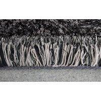 Kusový koberec Shaggy MAX puffy - tmavě šedý