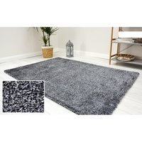 Kusový koberec Shaggy MAX velvet - tmavě šedý