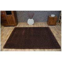 Kusový koberec SHAGGY NARIN hnědý