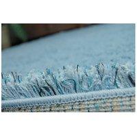 Kusový koberec SHAGGY NARIN světle modrý