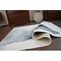 Moderní koberec Buldog - bílý