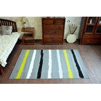 Moderní koberec Pruhy žluté