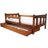 Dětská postel z MASIVU DP 022 - moření dub