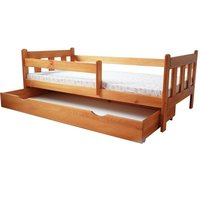 Dětská postel z MASIVU DP 022 - moření olše