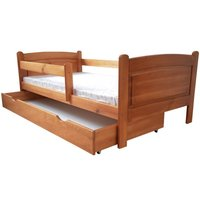 Dětská postel z MASIVU DP 023 - moření olše