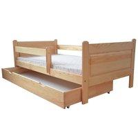 Dětská postel z MASIVU DP024 - bezbarvý lak