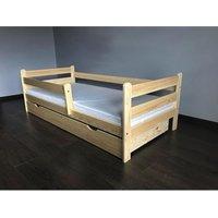 Dětská postel z MASIVU DP025 - bezbarvý lak