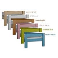 Dětská postel z MASIVU náhled barev