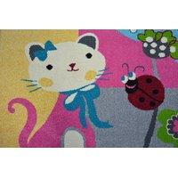 Dětský koberec FUNKY TOP IMI květiny