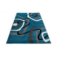 Moderní kusový koberec MATRA modrý 3465A