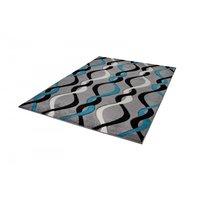 Moderní kusový koberec MATRA tmavě hnědý C236B