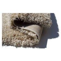 Kusový koberec SHAGGY FLUFFY - béžový