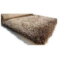 Kusový koberec SHAGGY FLUFFY - cappuccino