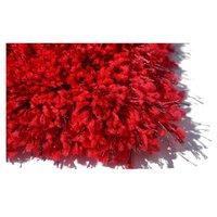 Kusový koberec SHAGGY FLUFFY - červený