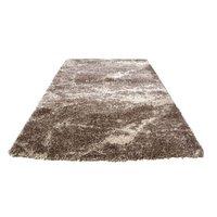 Kusový koberec SHAGGY FLUFFY - kakao