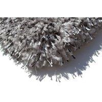 Kusový koberec SHAGGY FLUFFY - šedý