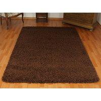 Kusový koberec SHAGGY SPARTA hnědý