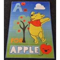 Dětský koberec Medvídek Pú pod jabloní - 80x120 cm