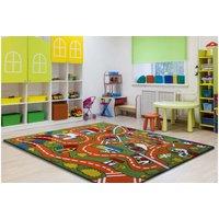 Dětský koberec Cestička - zelený