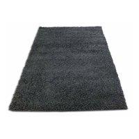 Moderní kusový koberec SHAGGY COLOR - antracit