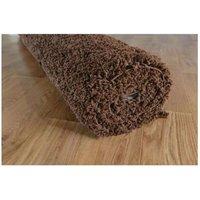 Moderní kusový koberec SHAGGY COLOR - hnědý
