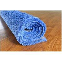 Moderní kusový koberec SHAGGY COLOR - světle modrý