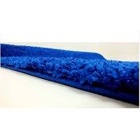Moderní kusový koberec SHAGGY COLOR - tmavě modrý