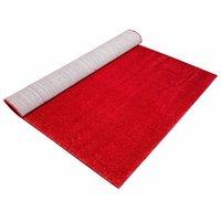 Kusový koberec SHAGGY TOP - červený