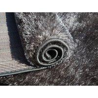 Kusový koberec SHAGGY TOP - šedý