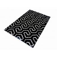Kusový koberec SHAGGY TOP - 463 - černý