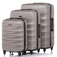 Cestovní kufry EUROSTAR - béžové