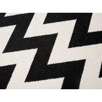 Kusový koberec Maroko - 891 - černo-bílý