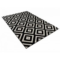 Kusový koberec Maroko - 885 - černo-bílý